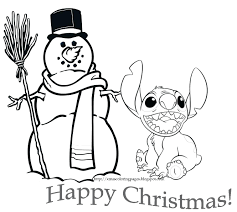 lilo stitch coloring pages playing guitar christmas cute ohana