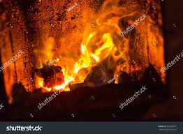 fire fireplace close red fire stock photo 523605697 shutterstock