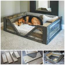 How To Make The Bed How To Make The Easiest Diy Pallet Dog Bed Pallet Dog Beds Dog