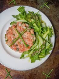tartare cuisine salmon tartare caroline s cooking