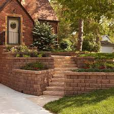 Retaining Wall Ideas For Sloped Backyard All About Retaining Walls Curb Appeal Front Doors And Retaining