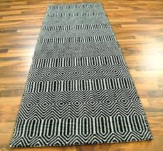 Chevron Runner Rug White Runner Rug Tapinfluence Co