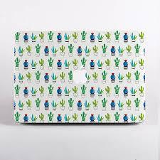 cactus print hard case for mac book by dessi designs