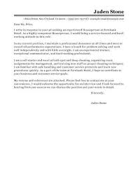 lovely sample cover letter for hospitality industry 27 for your