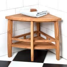 Teak Folding Shower Bench Clevr 20 Teak Modern Folding Shower Seat Bench Dark Wood Medical