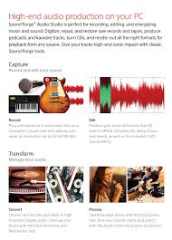 amazon com sony sound forge audio studio 10 software