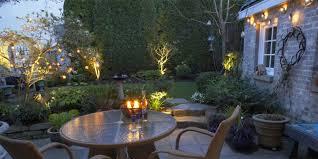 the best way to display garden lights all year round