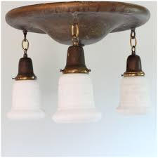 Flush To Ceiling Light Fixtures Diy105 Flush Ceiling Pan Light Bogart Bremmer Bradley Antiques