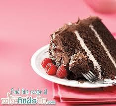mocha raspberry chocolate cake recipe