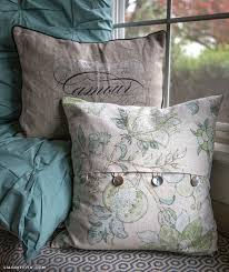 Home Decorating Sewing Projects Easy Diy Envelope Pillow Covers By Lia Griffith Project Sewing