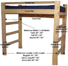 loft bed frame twin xl u2013 act4 com