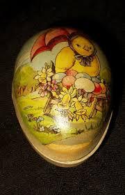 vintage paper mache easter eggs 184 best antique easter papermache eggs images on