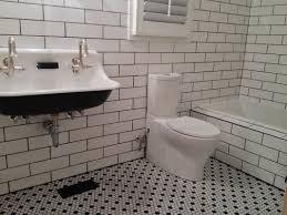 trends white hexagon floor tile bathroom ceramic wood tile