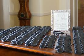 sunglasses wedding favors favors gifts photos don t be blinded by our sign