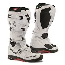 white motocross boots tcx comp evo michelin offroad motocross boots white cycle plus online
