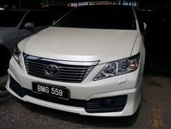 price of toyota camry 2013 toyota camry cars for sale in malaysia toyota camry price