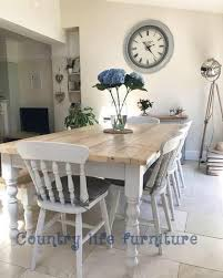 country style dining table farmhouse tables made from reclaimed wood all handmade to any size