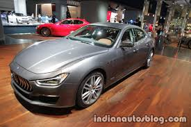 maserati price 2008 2018 maserati ghibli granlusso u0026 gransport showcased at iaa 2017