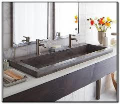 single faucet trough sink sinks kohler double sink american