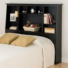 bookshelf headboard queen bedroom furniture nostalgia bookcase