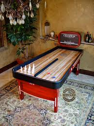 ricochet shuffleboard table for sale chion homesetting bank shot logo print jpg