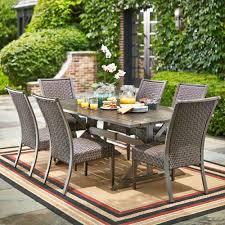 hampton bay carleton place 7 piece patio dining set rxhd 43 set