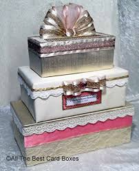 gold and wedding card box card holder sweet 16