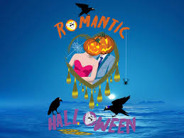 animated halloween desktop wallpaper romantic halloween screensaver loose your head and fall in love