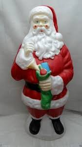 Santa Claus Blow Mold Christmas Decoration by Mermaids Of The Lake A Lifestyle Publication For Women Creative