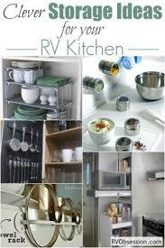 Tiny Kitchen Storage Ideas Small Kitchen Storage Ideas Rv Obsession