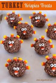 24 adorable fall themed rice krispie treats thanksgiving