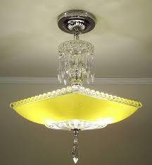 Yellow Glass Ceiling Light 29 Best Home Light Fixtures Images On Pinterest Ceiling Lights