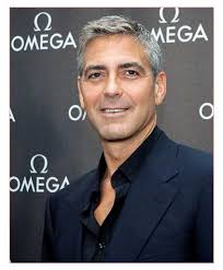 mens short thin hairstyles with george clooney short cut nice hair