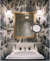 wallpaper bathroom ideas 36 best toilettes images on bathroom ideas small
