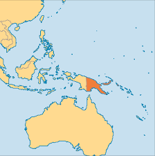 Maryland On A Map Papua New Guinea Operation World