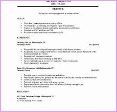 security officer resume best of security officer resume description security resume