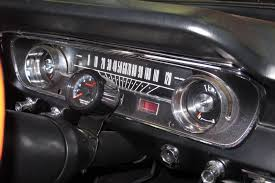 1965 mustang instrument cluster a 1965 ford mustang gets a dakota digital vhx upgrade