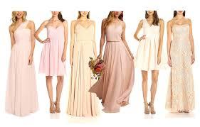 blush bridesmaid dress top 10 best blush bridesmaid dresses