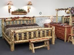 Wood Log Bed Frame Wood Log Furniture That Ll Make You Feel Amazed Trends4us
