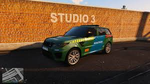 range rover svr 2017 range rover svr 2017 hungarian police skin gta5 mods com