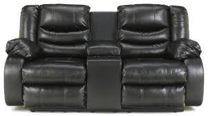 benchcraft by ashley linebacker durablend black contemporary