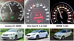 lexus ct or toyota prius hybrid vs turbo vs naturally aspirated 0 100 160 lexus ct 200h