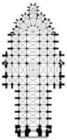 Cathedral Floor Plan Visit Amiens Cathedral U2013 The Largest Gothic Church In France