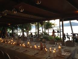 wedding arches cairns foxy s bar grill fitzroy island destination wedding