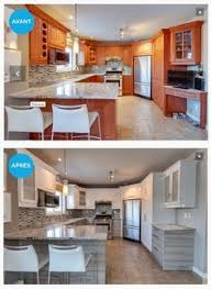 relooker sa cuisine avant apres relooking d une cuisine en bois avant après casa