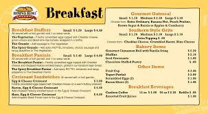 fresh breakfast menu page design ideas fandung
