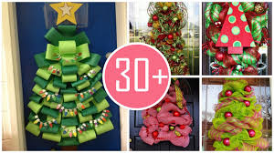 backyards christmas tree door decoration decorations pinterest