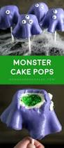 How To Make Halloween Cake Pops Monster Cake Pops Homemade Hooplah