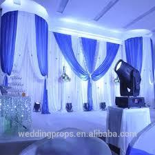 wedding backdrop blue 3mx6m royal blue wedding pipe and drape wedding stage backdrop