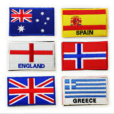 Military Flag Patch Online Shop Countries Flag Patches Israel Russia Germany Brazil